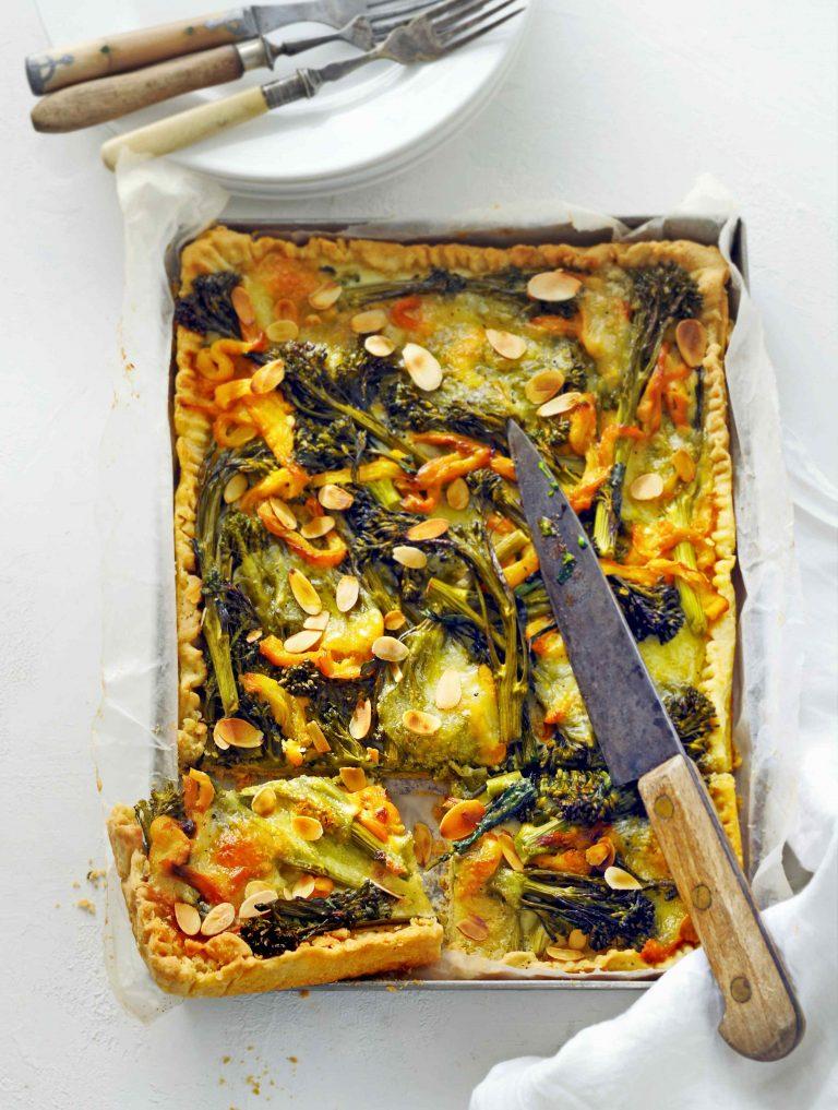 bimitaart met mozzarella