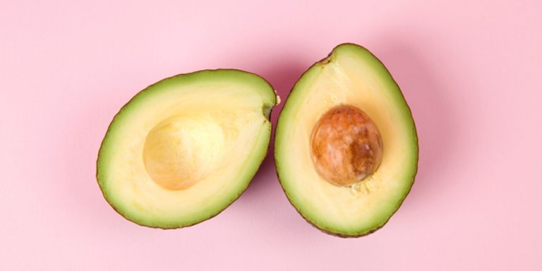 Mindful avocado eten