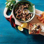 bruschette met bospaddenstoelen | delicious