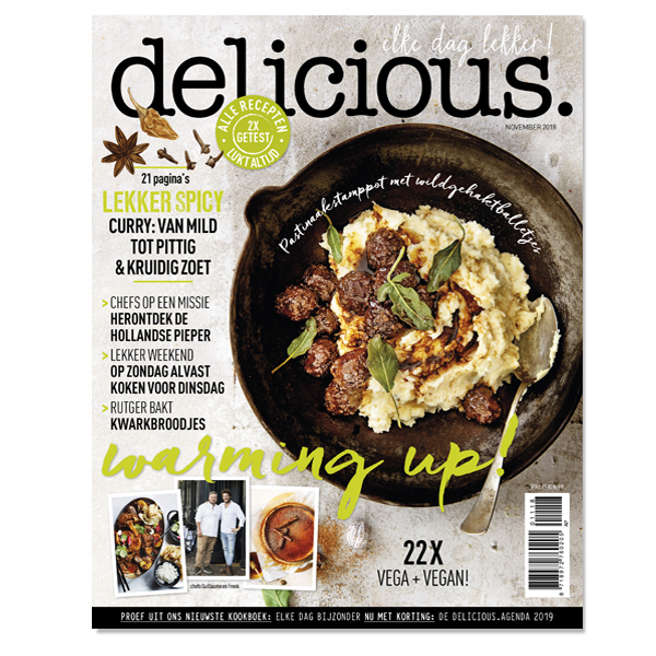 delicious. editie 11 - november 2018 Losse edities