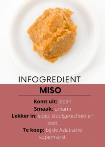 infogredient miso - delicious