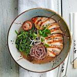 kipramen met spinazie | delicious