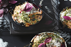 lasagne-met-paddenstoelen - delicious