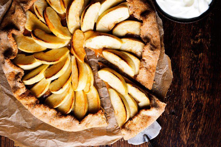 spelt-appeltaart - delicious