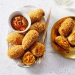 pompoen-saffraan kroket | delicious
