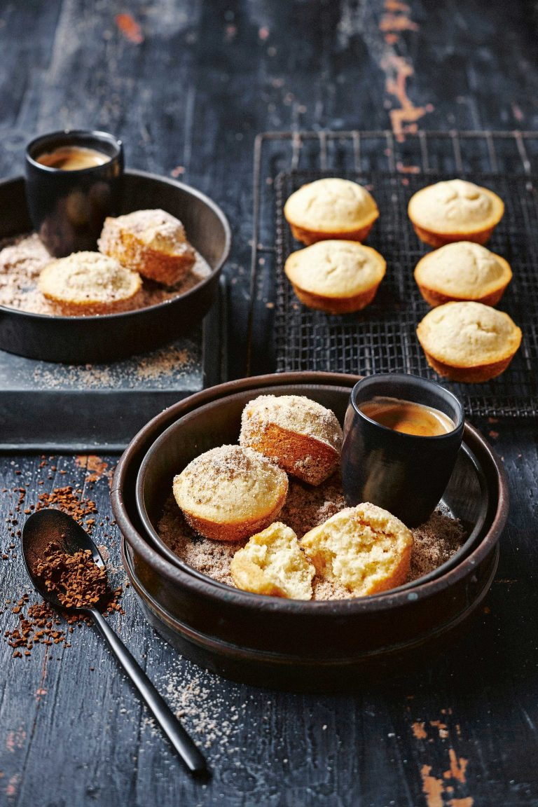 affogato-muffins met mokkasuiker