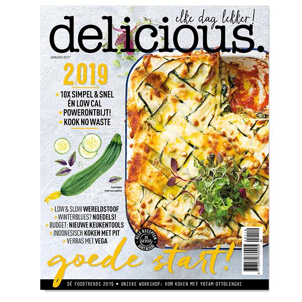 Afbeelding van Delicious. Editie 1 - Januari 2019