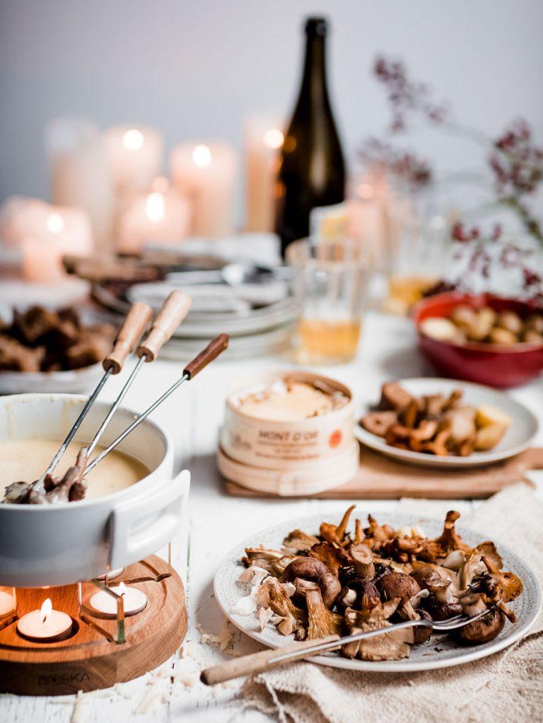 klassieke Zwitserse fondue