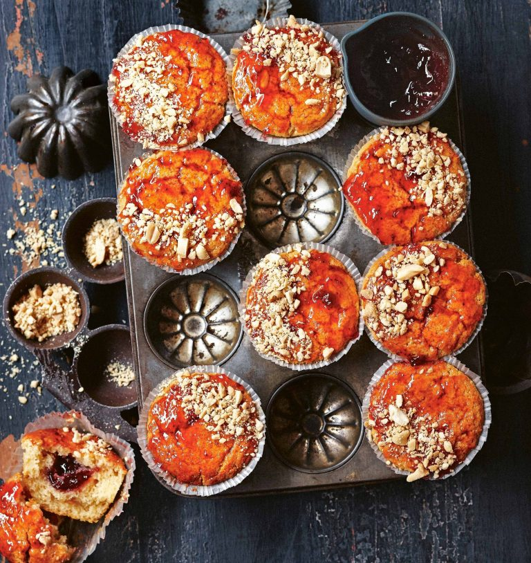 pindakaasmuffins - delicious