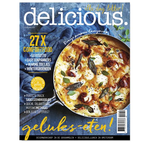 delicious. editie 2 – februari 2019