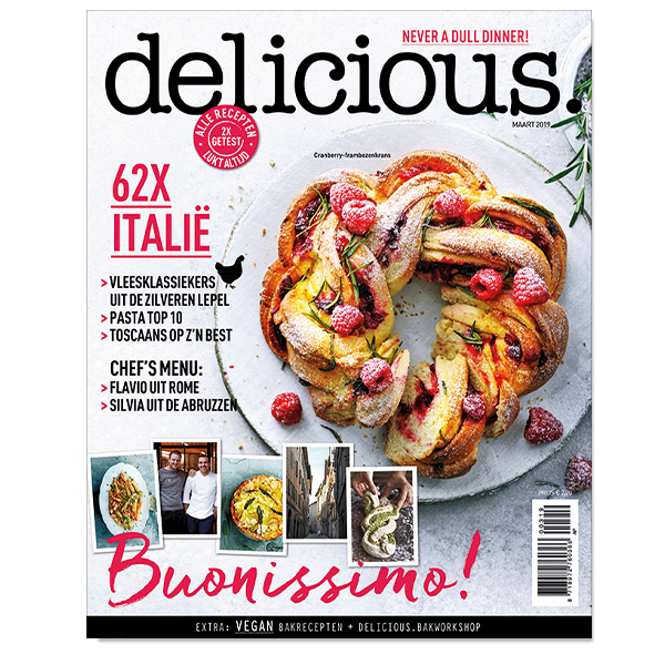 delicious. editie 3 - maart 2019 Losse edities