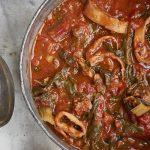 pijlinktvis-spinazie-delicious