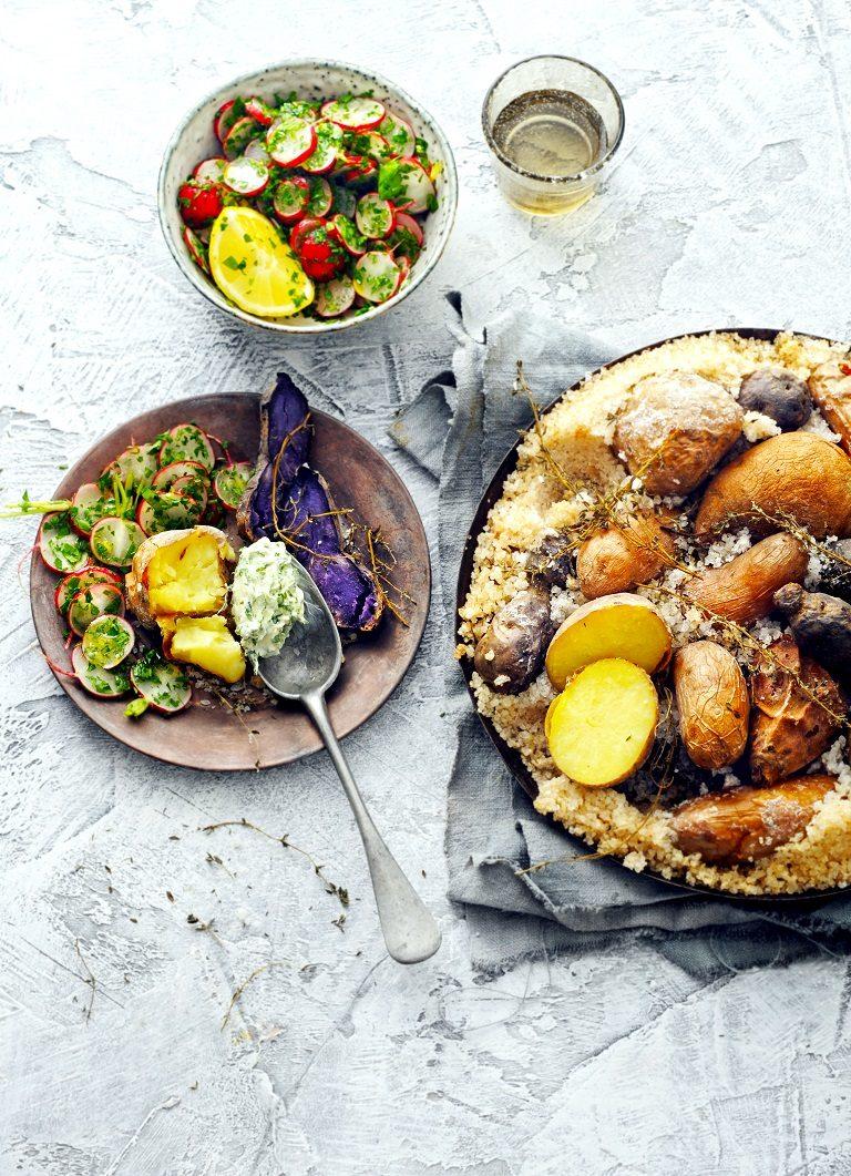 aardappel-zoutkorst
