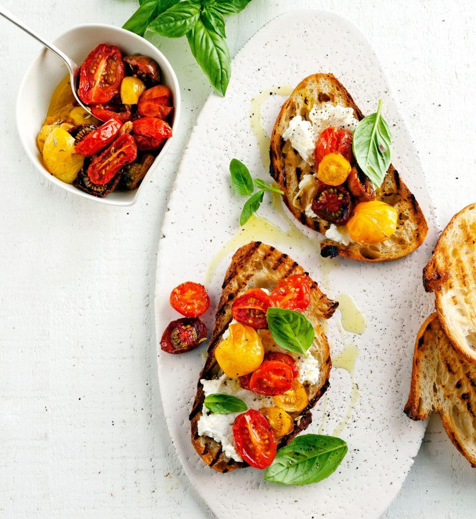 tomatenbruschette - delicious
