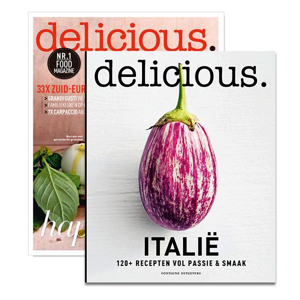 Afbeelding van 3 X Delicious. + 1 Special + Kookboek 'italië'