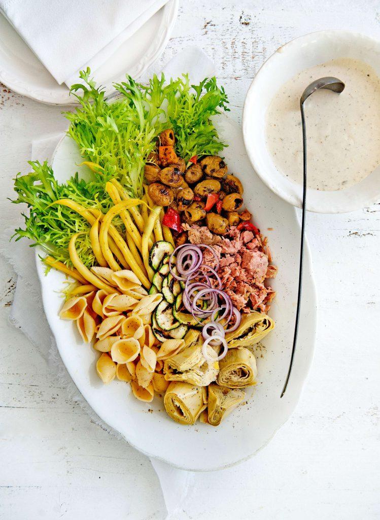 pastasalade tonijn - delicious
