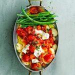 gnocchi met tomaten-gorgonzolasaus en pancetta - delicious
