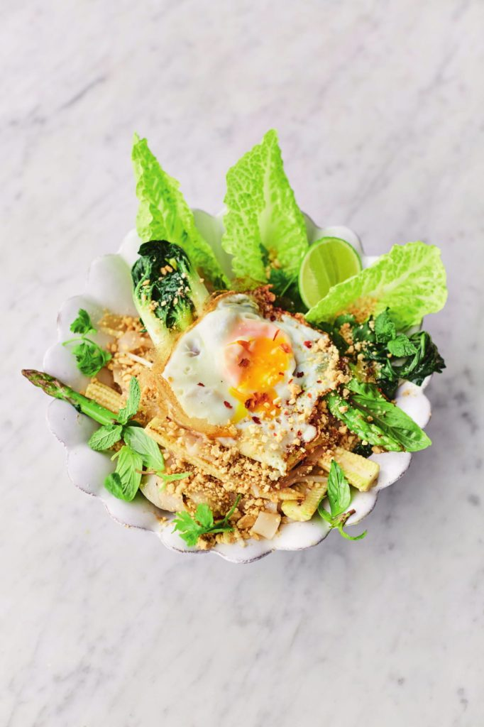 Vega pad thai - jamie oliver - delicious