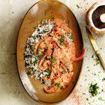Vegan stroganoff met portobello - delicious