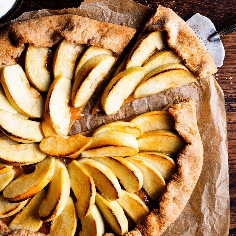 appel-spelttaart - delicious