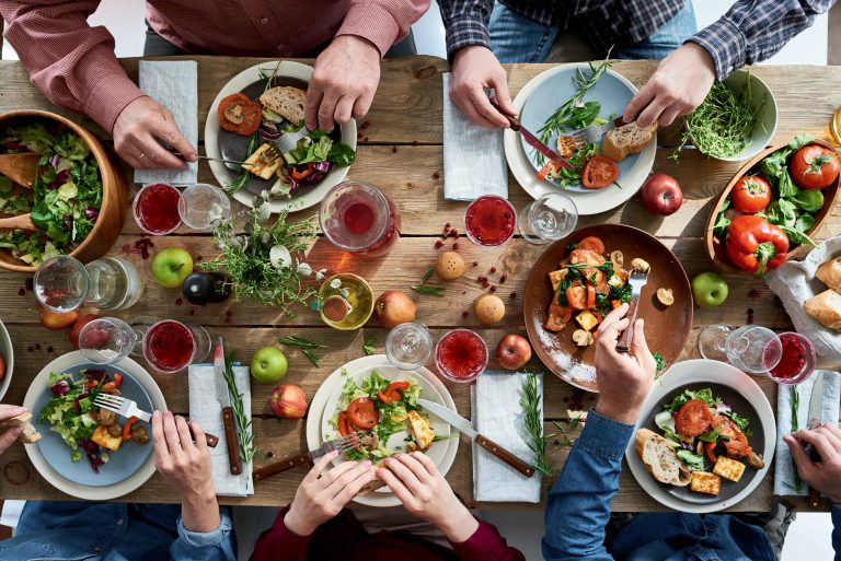 vegan tafel - istock