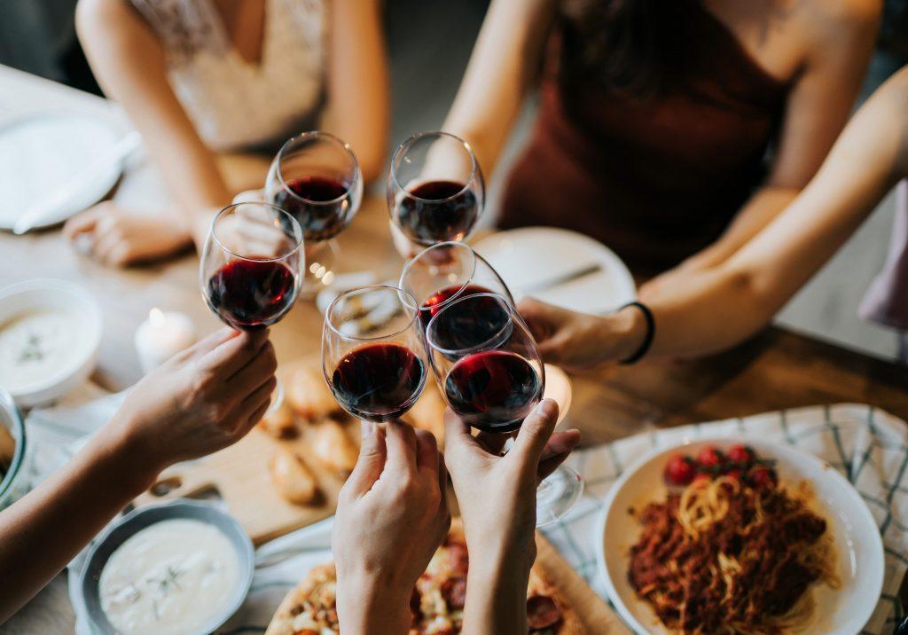 wijn borrel - delicious