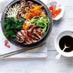 koreaanse bibimbap quinoa entrecote boerenkool - delicious