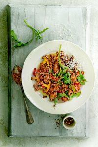 Risoni met pancetta - delicious