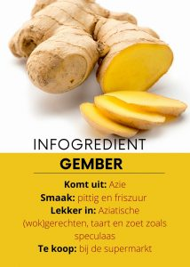 infogredient gember - delicious