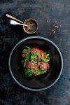 ossenhaaspuntjes met bieten-kruidenstamppot - delicious