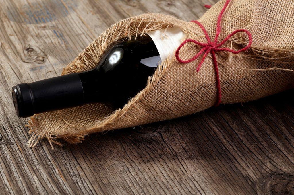 betaalbare wijn fles cadeau - delicious