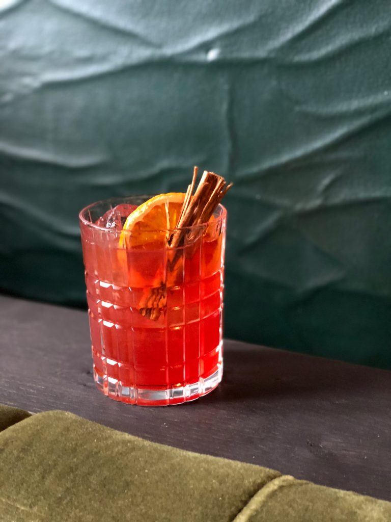 winter berry cocktail - delicious