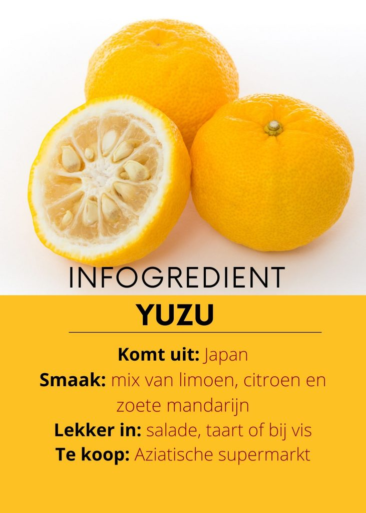 infogredient yuzu - delicious