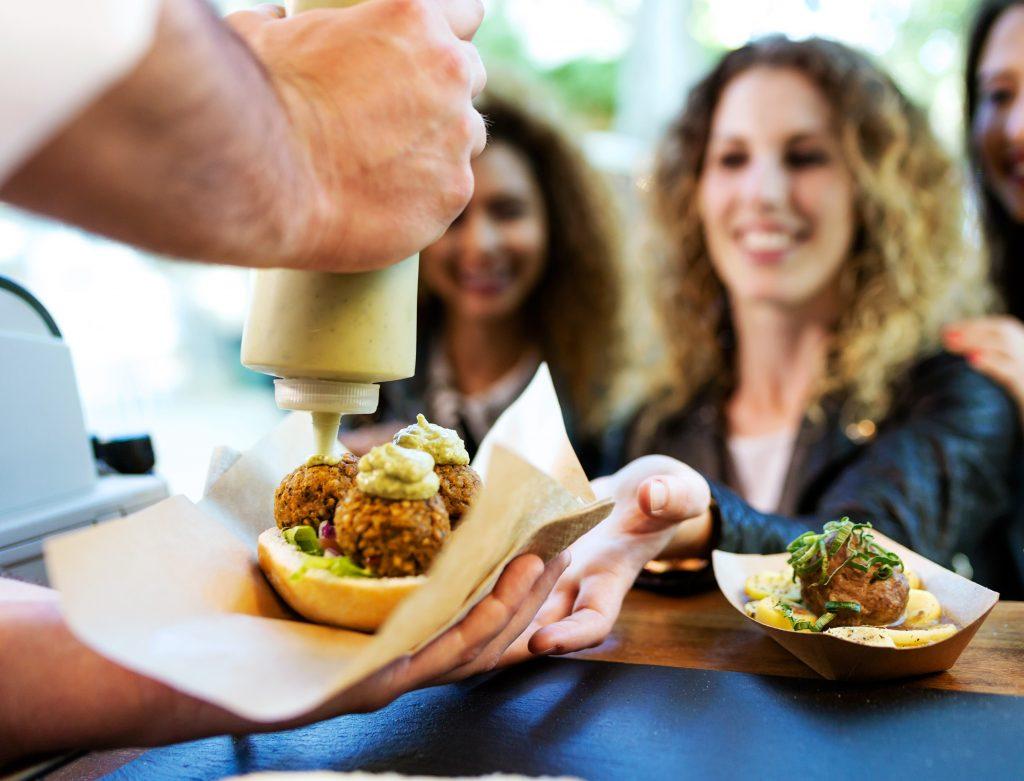 foodtruck foodfestival - delicious