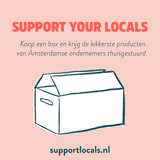 support your locals - delicious