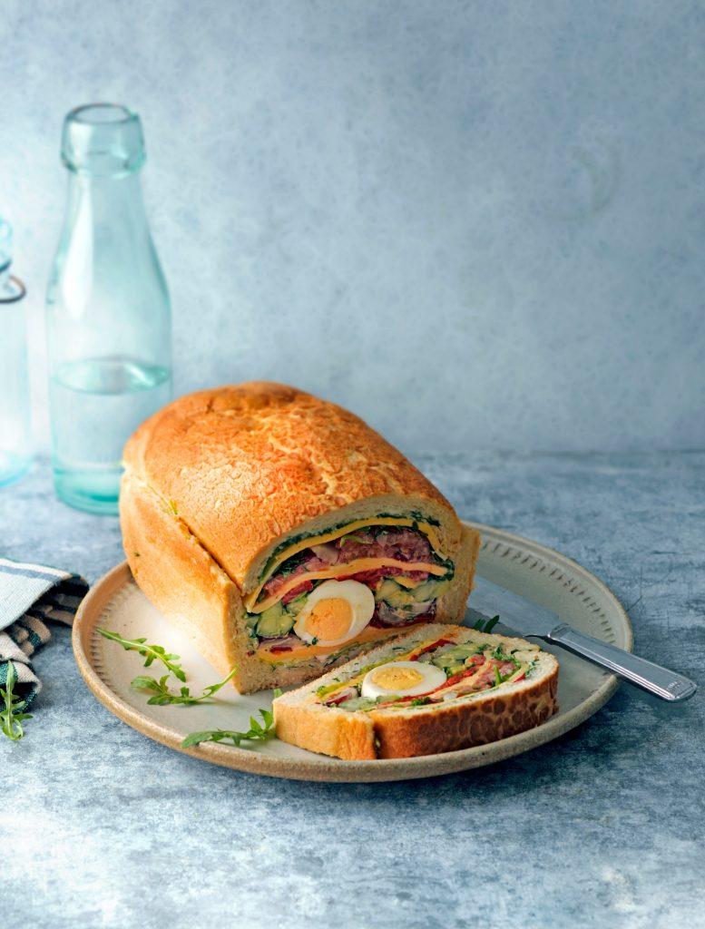 gevuld brood beemsterkaas - delicious