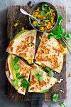 Tortilla-tosti met avocado - delicious