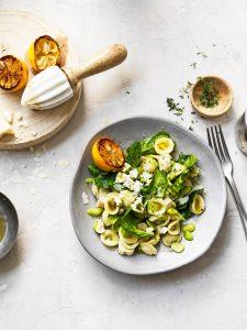 pastasalade met tuinbonen - delicious