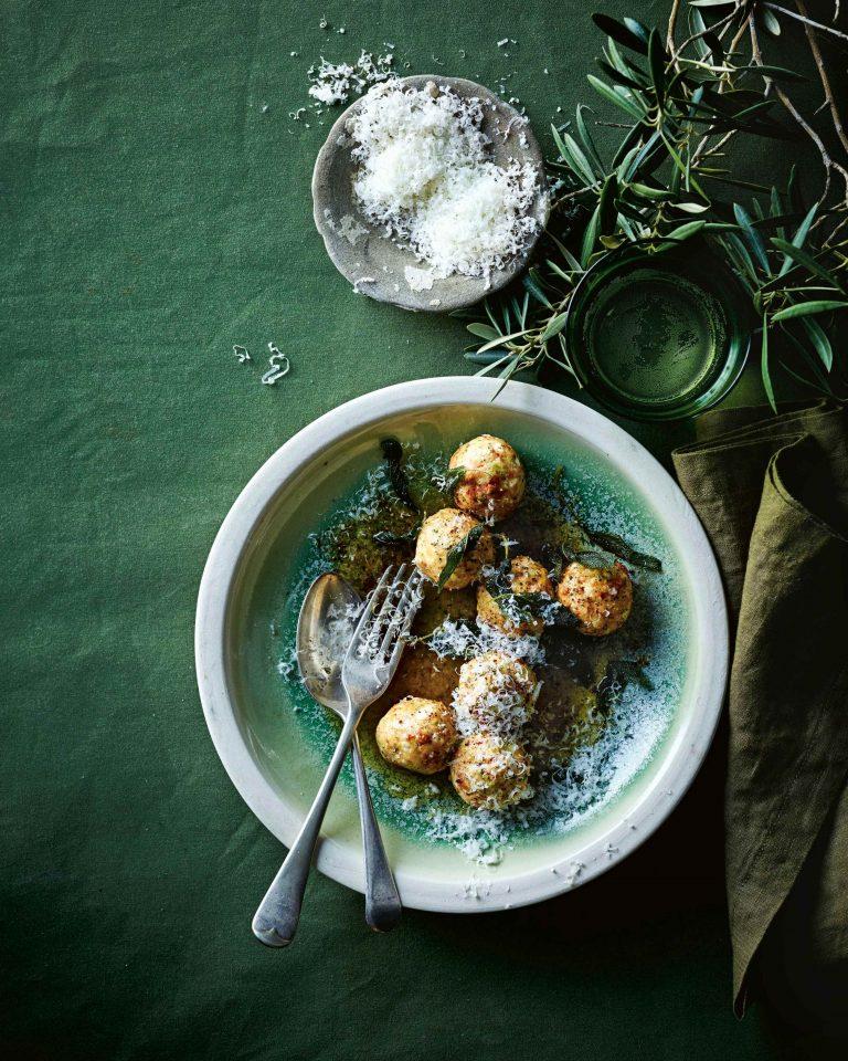 broccoli-gnudi - delicious