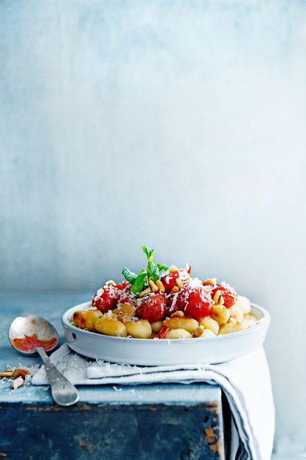 gebakken gnocchi met tomaatjes