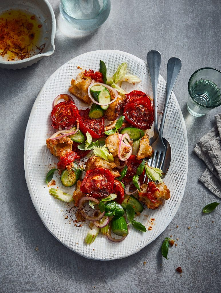 Panzanella Ottolenghi - delicious