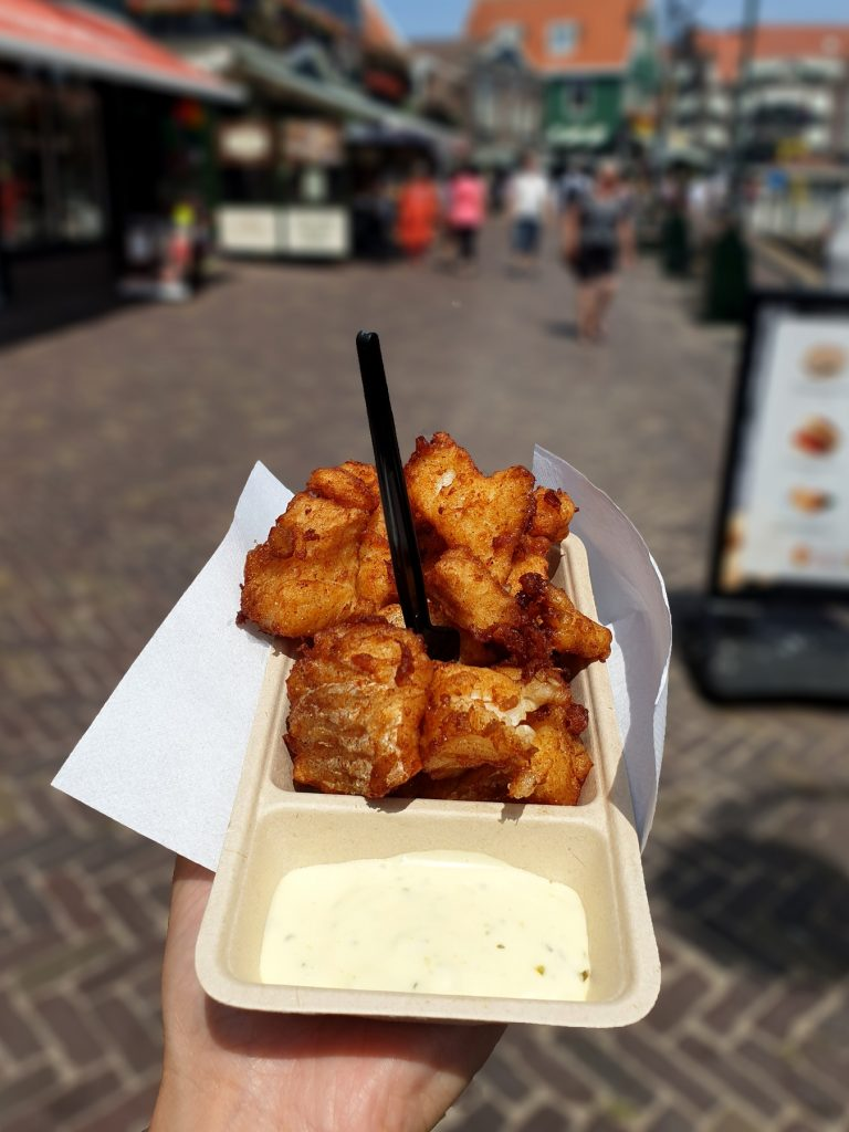 kibbeling met remoulade saus - delicious
