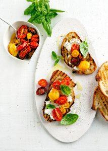 tomaten bruschetta - delicious