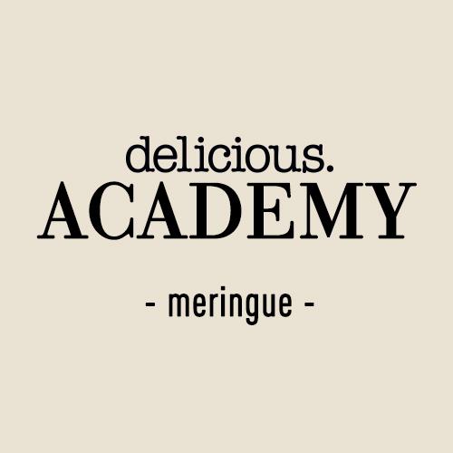 23 november – online academy meringue