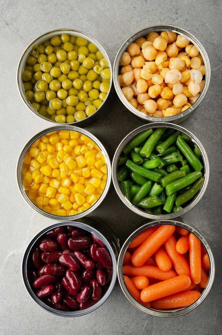 groenten uit blik (1) - delicious