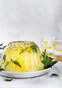 gin tonic jelly - delicious