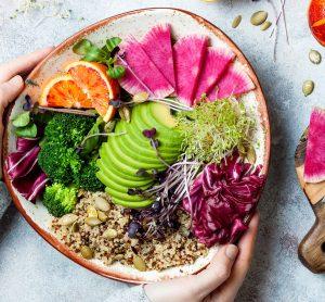 vega en vegan afhaalrestaurants - delicious