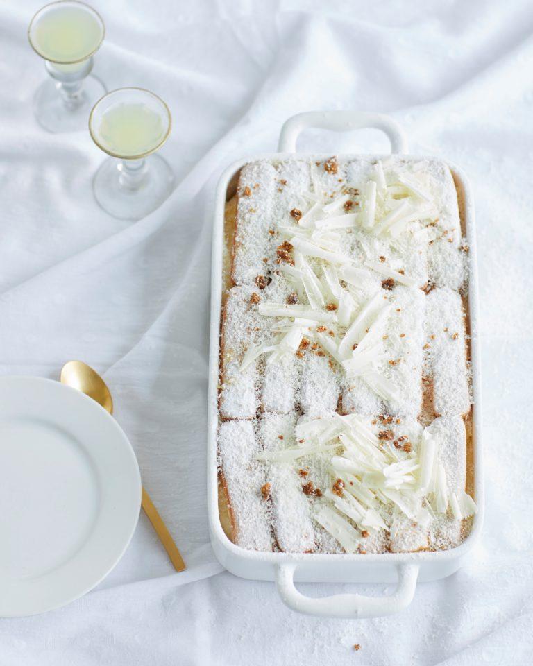 witte-chocotiramisù met banaan & limoncello - delicious
