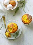 wortel-tijmsouffleetjes met parmezaan - delicious