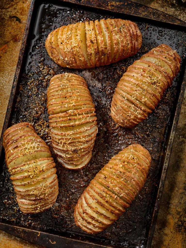 hasselback-aardappels - delicious